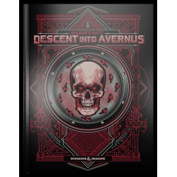 Dungeons & Dragons RPG Baldur's Gate: Descent into Avernus Adventure Book (Alternate Cover)