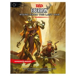 Dungons and Dragons Eberron: Rising From the Last War Adventure Book - EN