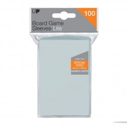 UP - Lite Board Game Sleeves 65mm x 100mm (100 Sleeves)