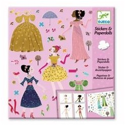 Dresses Through the Seasons - Stickere Repozitionabile