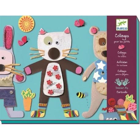 For Little Ones Kit Creatie Colaje