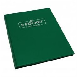 Blackfire 9 Pocket Card Album - Green
