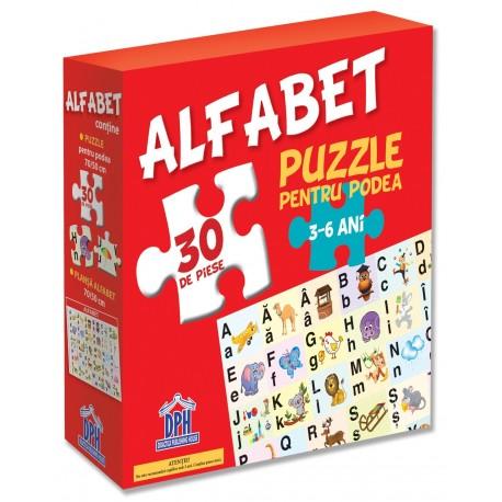 ALFABETUL - PUZZLE PODEA 50/70 + AFIS 50/70