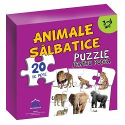 ANIMALE SALBATICE - PUZZLE DE PODEA 50/70 + AFIS 50/70