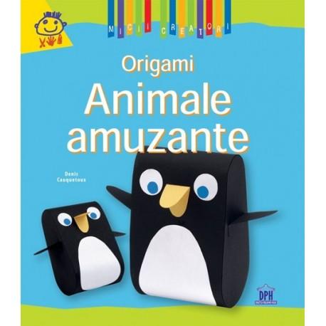 ORIGAMI-ANIMALE AMUZANTE