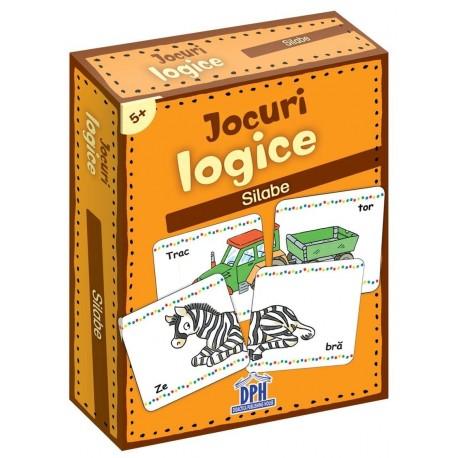 JOCURI LOGICE - SILABE - JETOANE