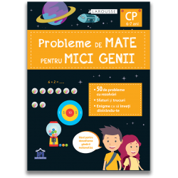 PROBLEME DE MATE PENTRU MICI GENII – clasa pregatitoare (6-7 ani)