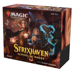 MTG - Strixhaven: School of Mages Bundle – EN (10 boosters)