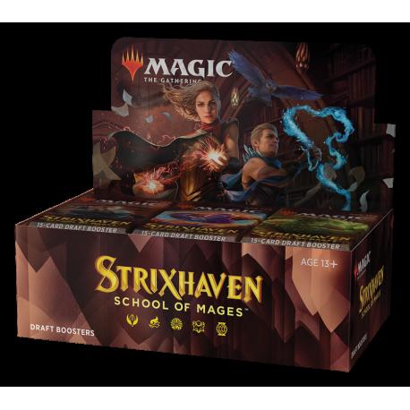 MTG - Strixhaven: School of Mages Draft Booster Display (36 Packs) – EN
