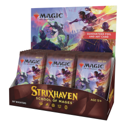 Pre-Comanda: MTG - Strixhaven: School of Mages Set Booster Display (30 Packs) – EN