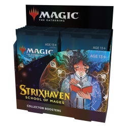 MTG - Strixhaven: School of Mages Collector Booster Display (12 Packs) - EN