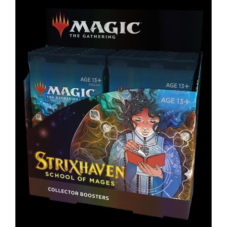 MTG - Strixhaven: School of Mages Collector Booster Display (12 Packs) - EN