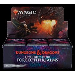 Pre-Comanda: MTG - Adventures in the Forgotten Realms Draft Booster Display (36 Packs) – EN