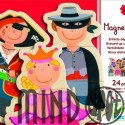 Joc cu magneti Carnaval - Dress'up