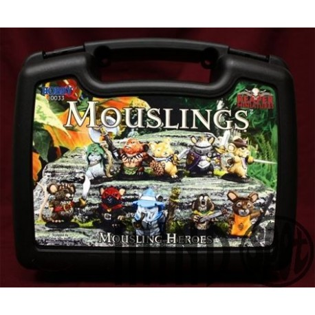 Kit Miniaturi Metal Reaper Mouselings Heroes