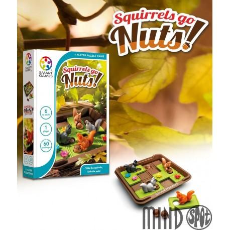 SQUIRRELS GO NUTS!