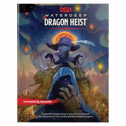 D&D - Waterdeep Dragon Heist Book - EN
