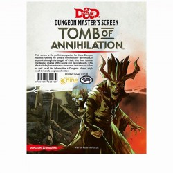 D&D: Tomb of Annihilation Dungeon Master's Screen - EN