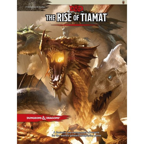 Dungeons & Dragons RPG - Tyranny of Dragons: The Rise of Tiamat - EN