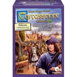 Carcassonne: Extensia 6 - Contele, Regele si Vasalii RO